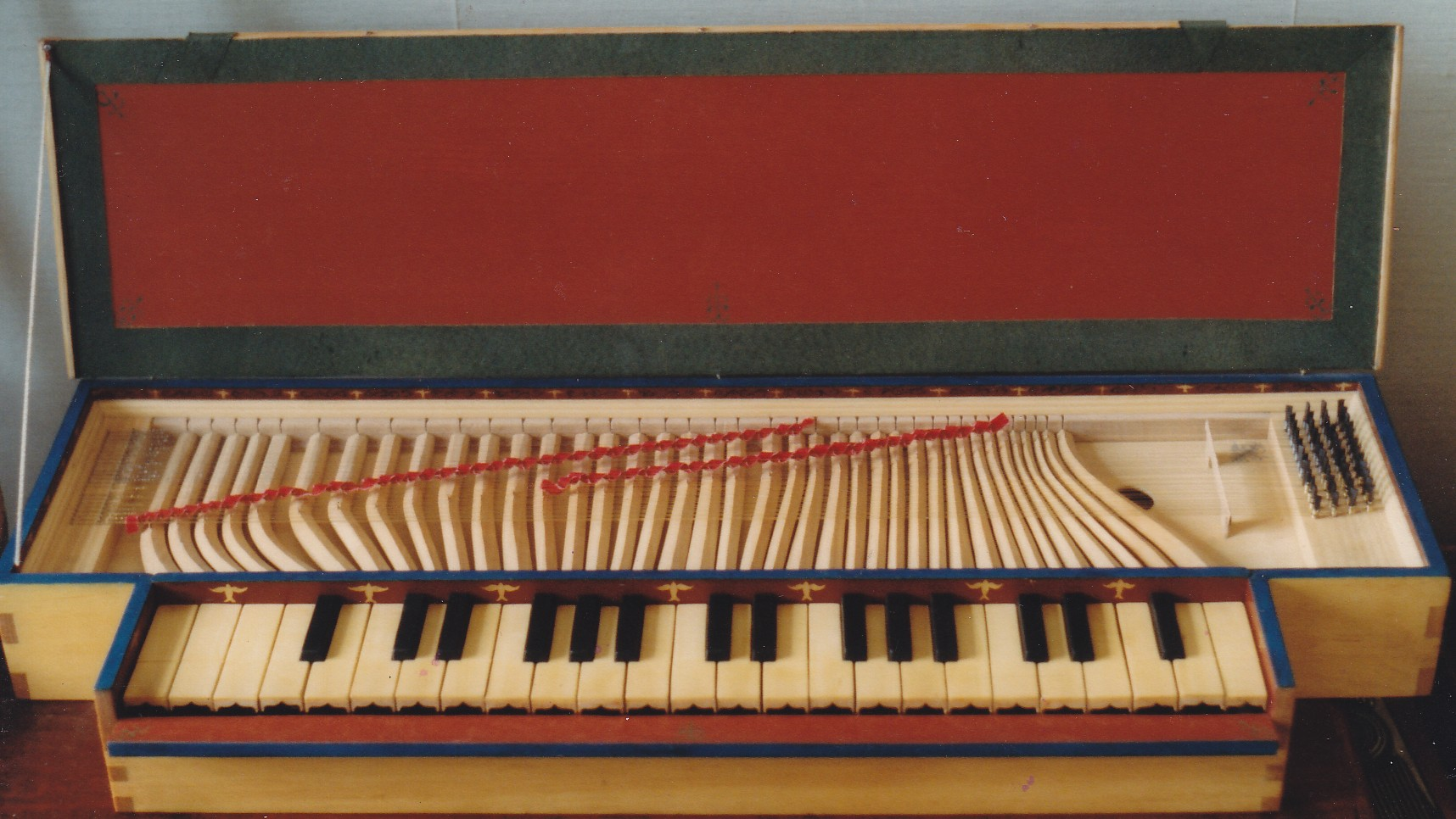 1983 Clavichord after van Hemessen 1537
