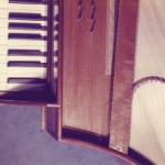 1984 spinet after John Hancock 1760 detail