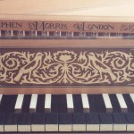 1986 spinet after Keene 1708 marquetry