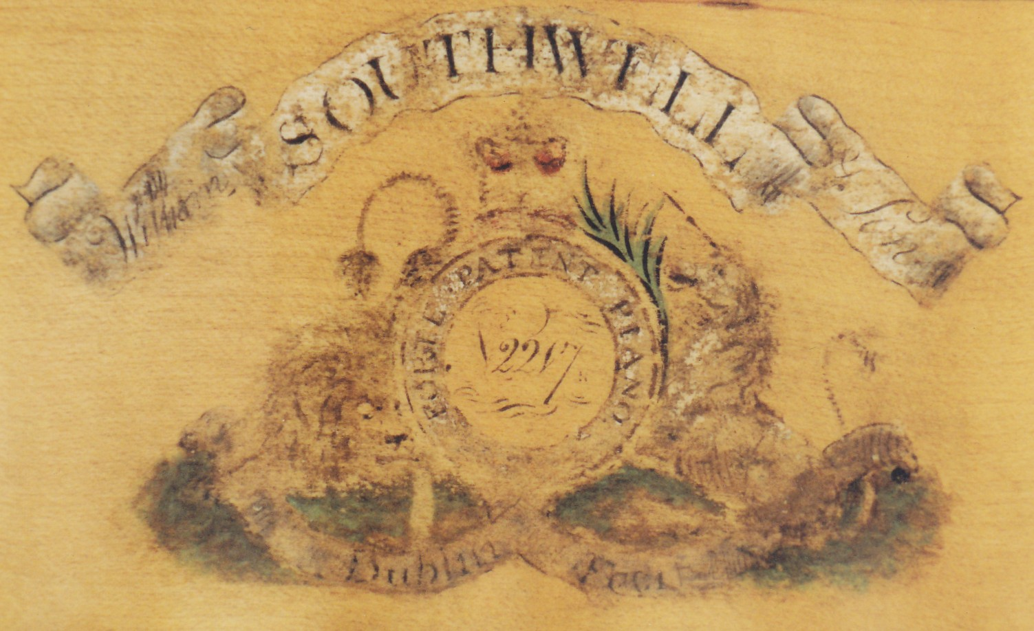 William Southwell Square 1801 detail